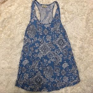 World market Paisley tank